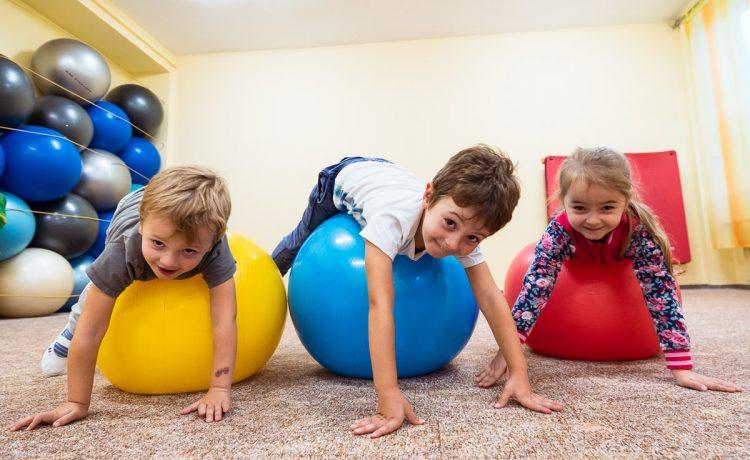 Športový krúžok pre deti od 4 do 7 rokov.