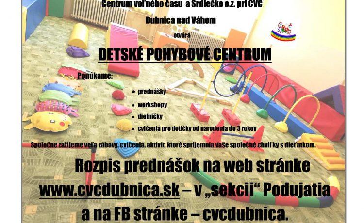 Detské pohybové centrum