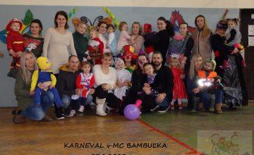 KARNEVAL MC Bambuľka - 27.1.2020